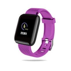 D116PLUS Smartwatch pulzus vernyomas veroxigenmero okoskarkoto okosóra